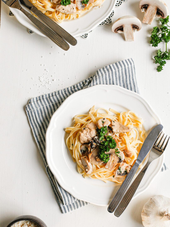 pasta uppskrift